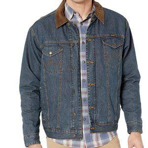 Men's Western Concealed Carry Blanket Lined Denim